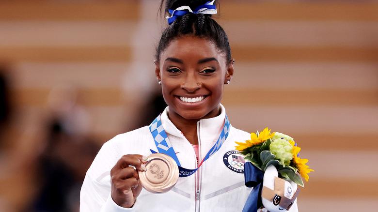 Simone Biles bronsemedalje
