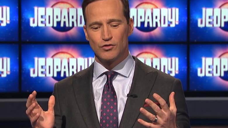 Mike Richards snakker om Jeopardy!  sett