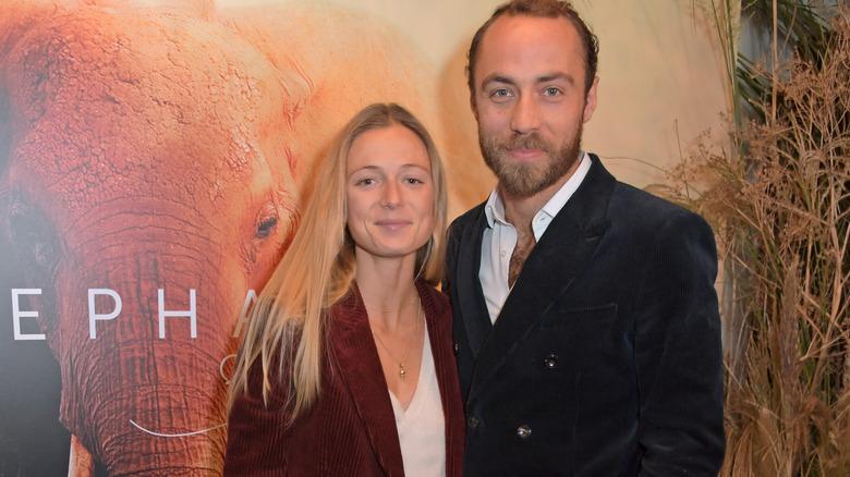 Alizee Thevenet og James Middleton
