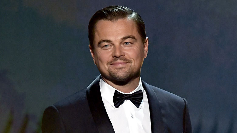 Leonardo DiCaprio smiler