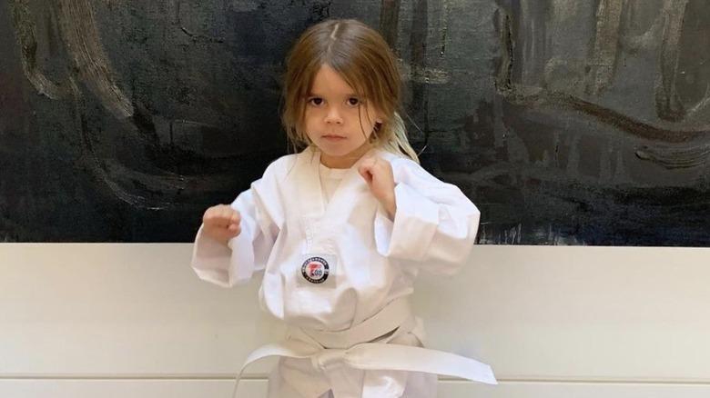 Regjering Disick gjør karate