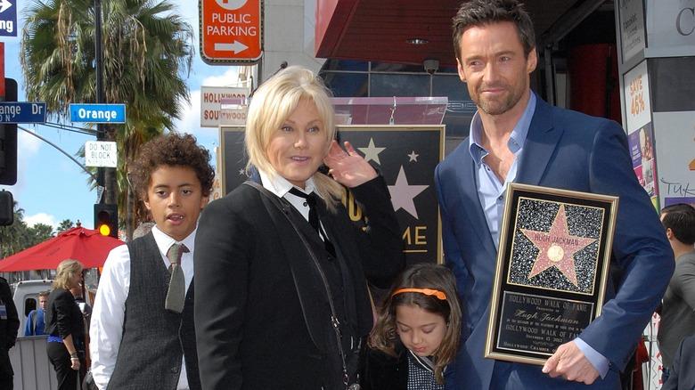 Jackman Family, Hollywood Walk of Fame, 2012