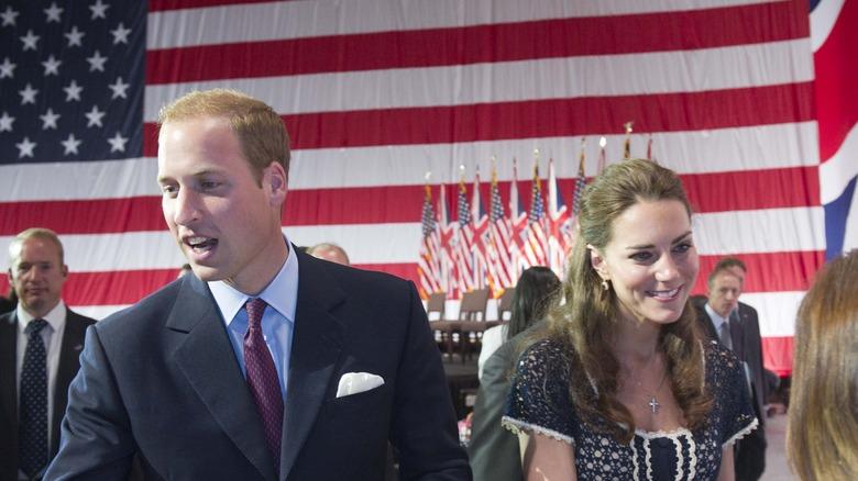 Prins William og Kate Middleton besøker California i 2011