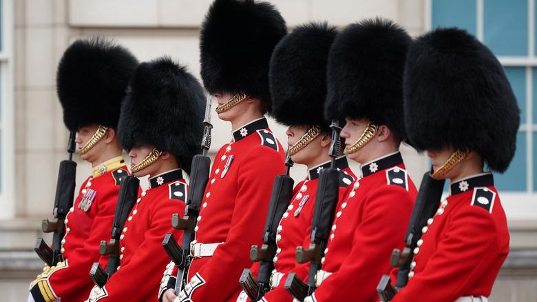Soldater ved vaktskiftet