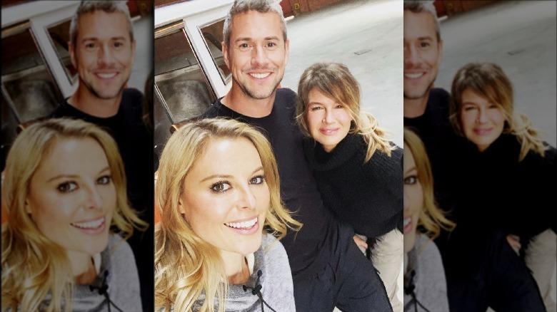 Cristy Lee, Ant Anstead, Renee Zellweger smilende i en selfie