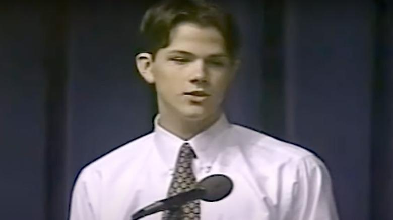 Jared Padalecki konkurrerte i National Forensic League i 1998.
