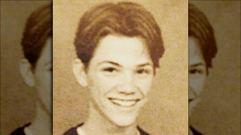 Pre-teen Jared Padalecki smiler