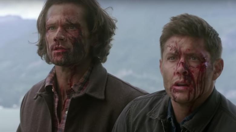 Jared Padalecki og Jensen Ackles som Sam og Dean Winchester
