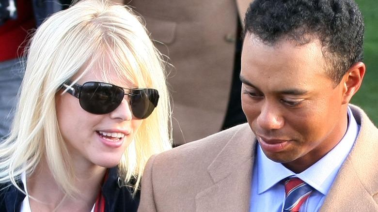 Elin Nordegren og Tiger Woods