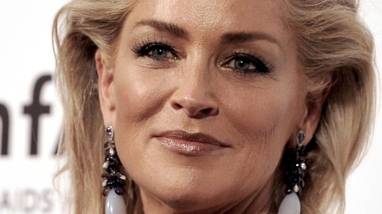 Sharon Stone på den røde løperen