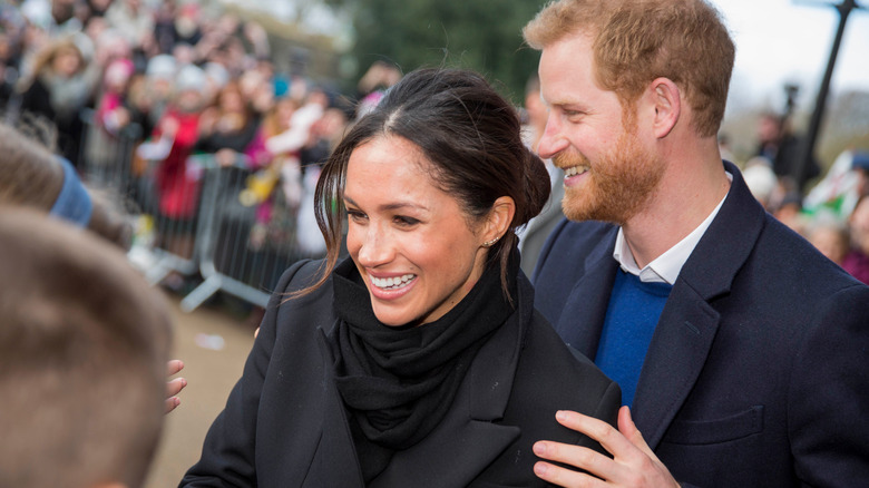 Meghan Markle, prins Harry, Wales, 2018