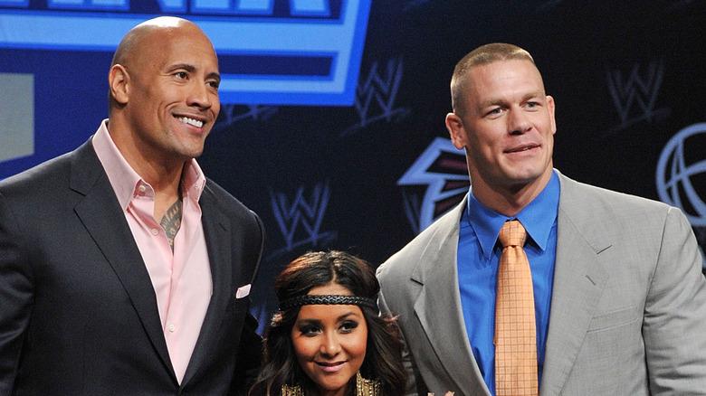 Dwayne Johnson, Snookie, John Cena