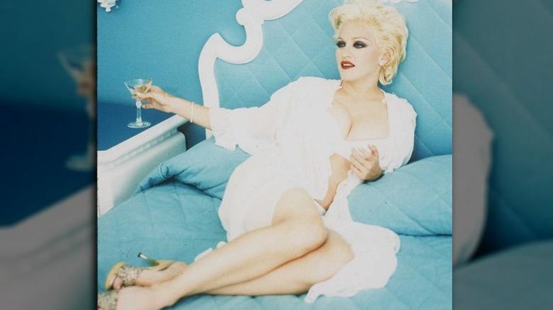 Madonna in Bedroom Stories promo art