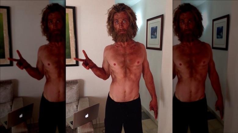 Chris Hemsworth vekttap