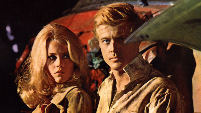 Jane Fonda og Robert Redford i 'The Chase'