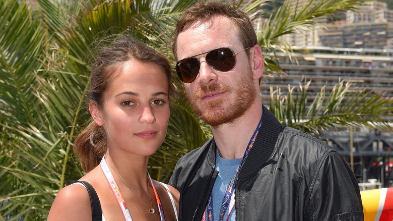 Alicia Vikander og Michael Fassbender