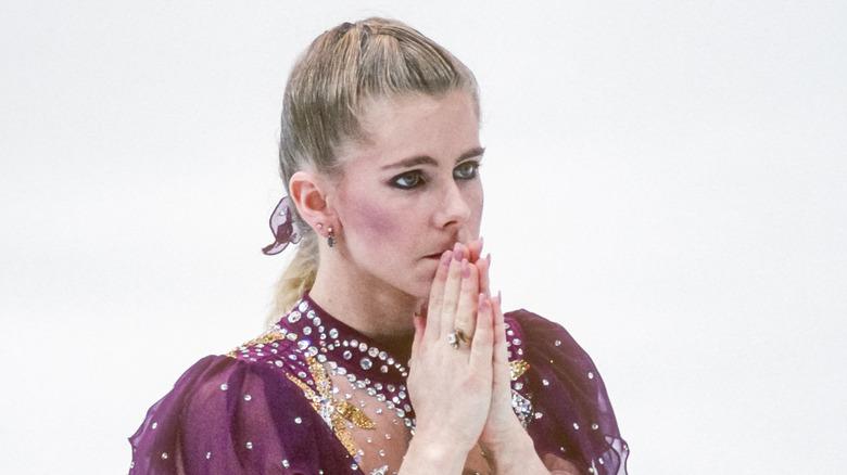 Tonya Harding på Lillehammer kunstløpskonkurranse
