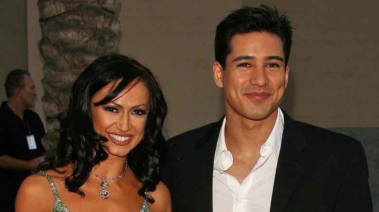 Karina Smirnoff med Mario Lopez