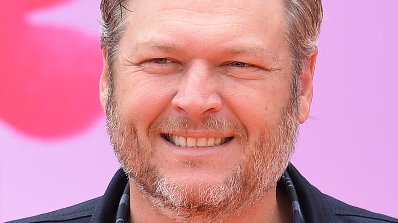 Blake Shelton smiler