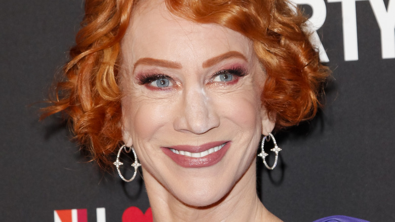 Kathy Griffin smiler