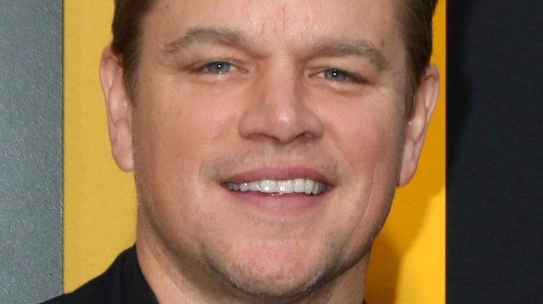 Matt Damon smiler i 2019