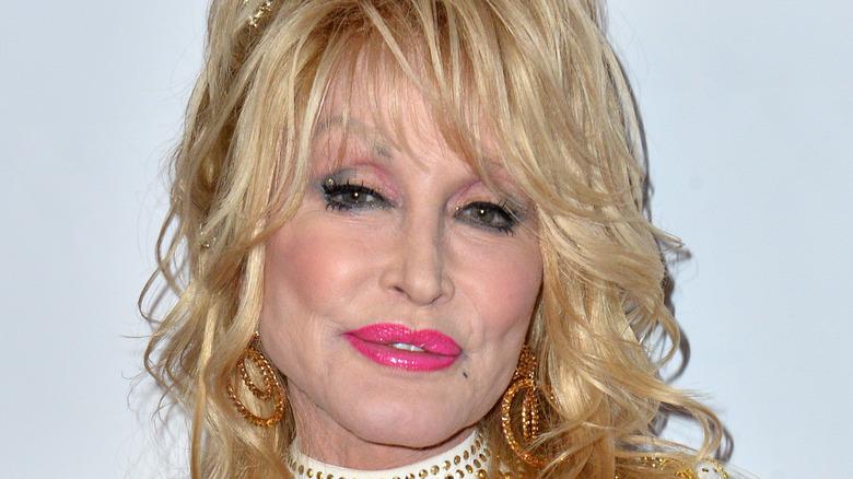 Dolly Parton på den røde løperen