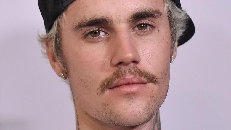 Justin Bieber på den røde løperen