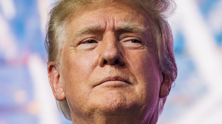 Donad Trumps ansikt