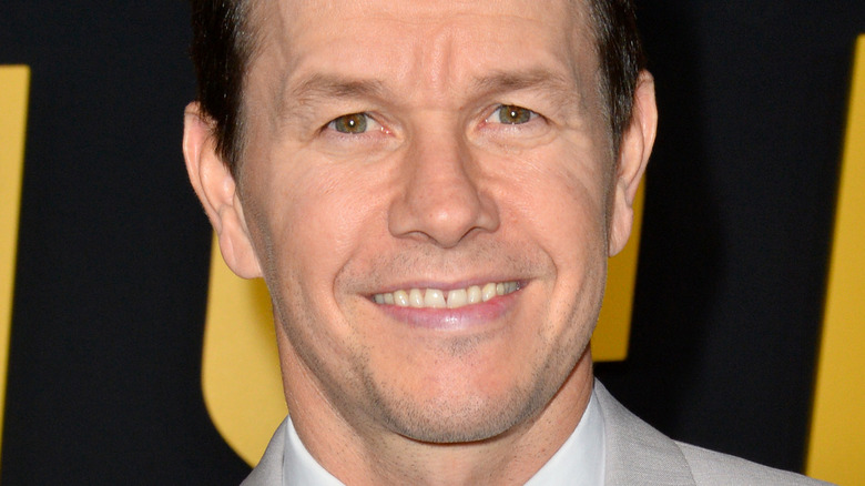 Mark Wahlberg smilte på premieren på Spencer Confidential