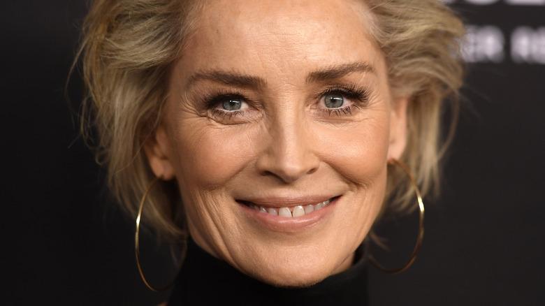 Sharon Stone på et arrangement