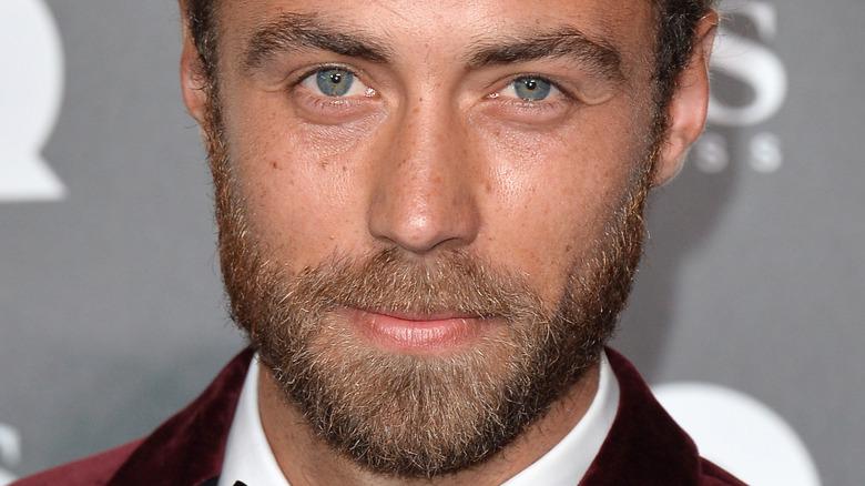James Middleton blå øyne