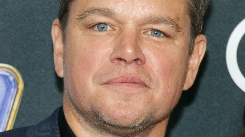 Matt Damon på den røde løperen