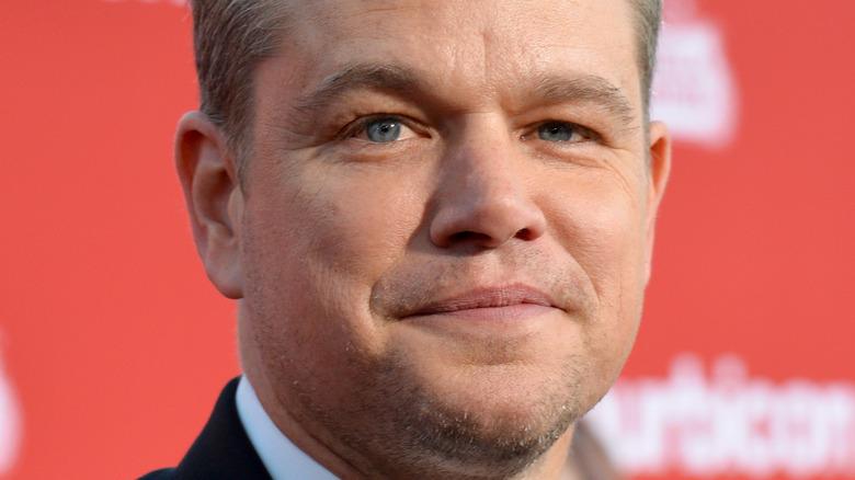Matt Damon deltar på et arrangement