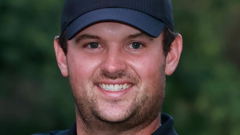 Patrick Reed smiler