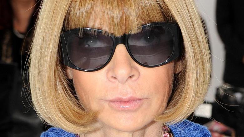 Anna Wintour iført solbriller