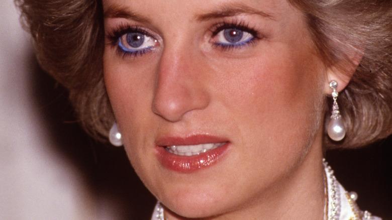 Prinsesse Diana blå øyne