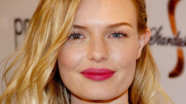 Kate Bosworth iført rosa leppestift