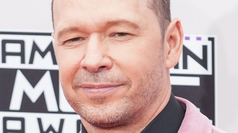 Donnie Wahlberg på American Music Awards 2013