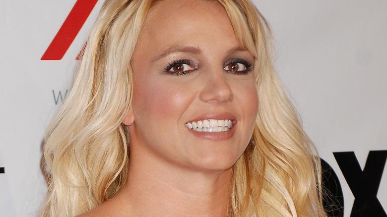 Britney Spears langt hår