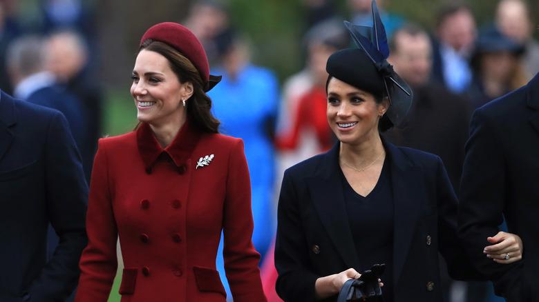 Kate Middleton og Meghan Markle