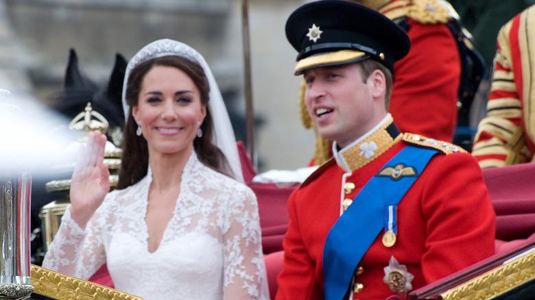 Kate Middleton vinker