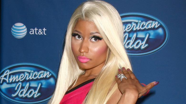 Nicki Minaj på den røde løperen