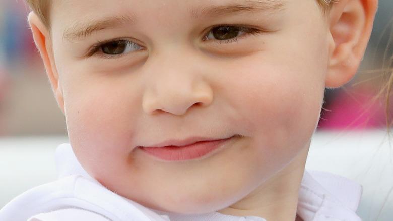 Baby prins George smiler