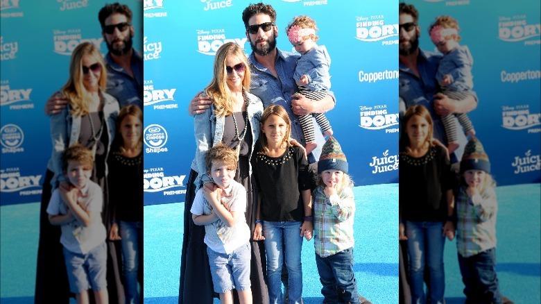 Jon Bernthal med familien