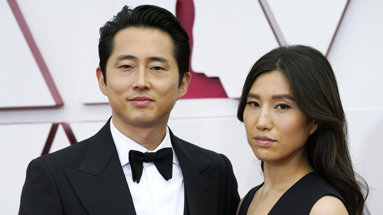 Steven Yeun og Joana Pak