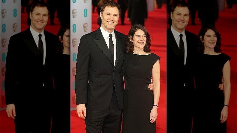 David Morrissey og Esther Freud