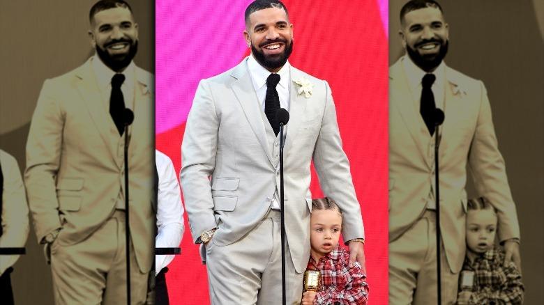 Drake holder Adonis Graham tett
