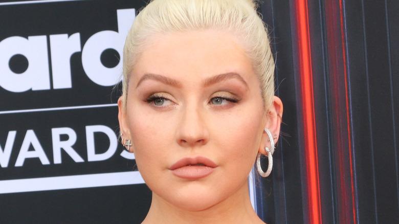 Christina Aguilera smiler