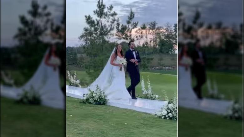 Bryllupet til Luke Bryan Jordan