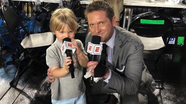 Todd McShay og barnet hans